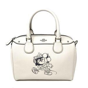 Coach Disney Minnie Mouse Mini Bennett Bag Leather